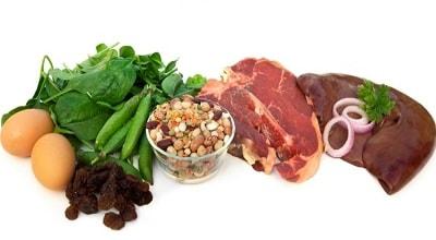 Какие продукты повышают железо
