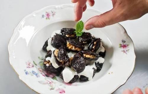 Рецепт фаршированного чернослива