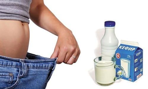 Рецепт кефира для похудения