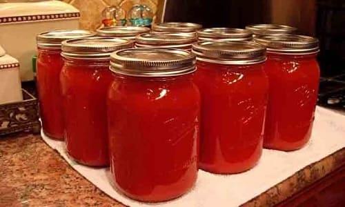 Рецепт домашнего приготовления томатов