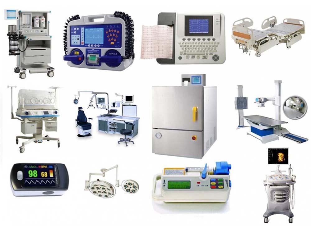 Виды медицинского оборудования