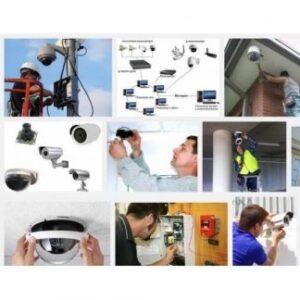 Этапы монтажа системы видеонаблюдения