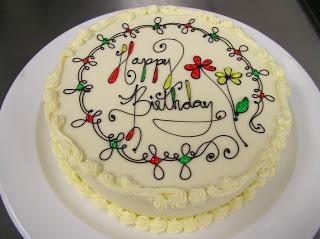 Торт неотъемлемая часть любого праздника