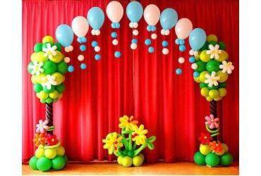 Роль воздушных шаров в оформлении праздника
